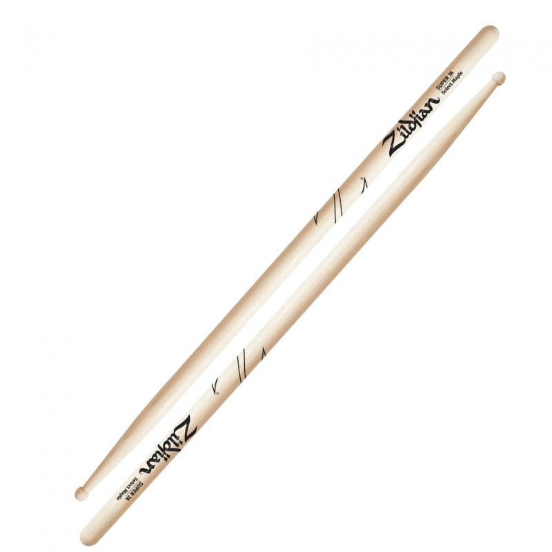 Zildjian Super 7A Maple Drumsticks Wood Tip
