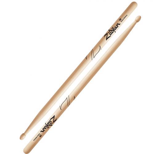 Zildjian 2B Hickory Drumsticks Wood Tip
