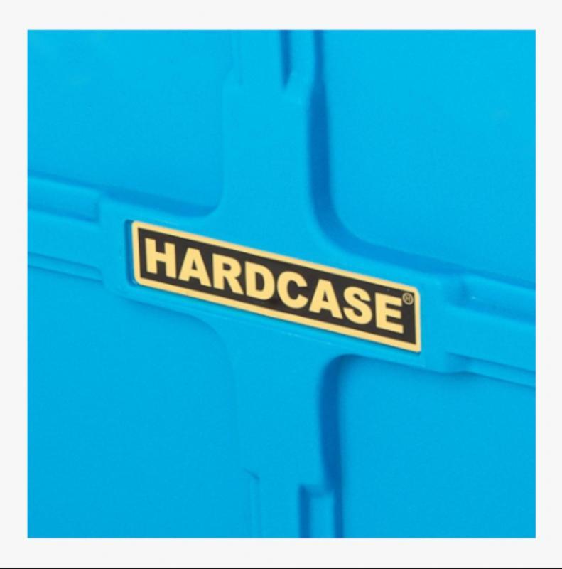 """Hardcase 22"""" Cymbal Case Light Blue"""