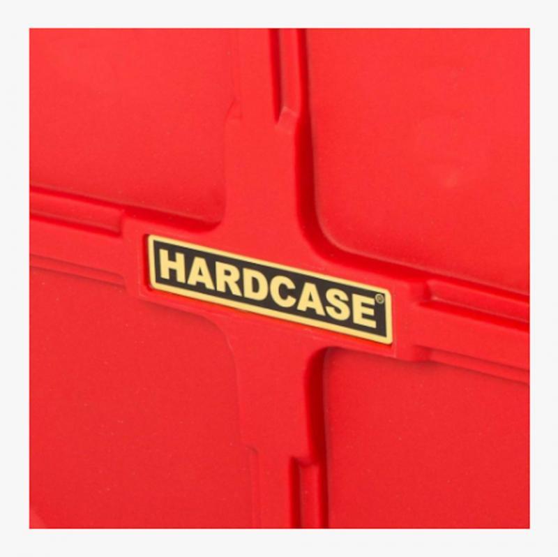 "Hardcase 22"" Cymbal Case Red"