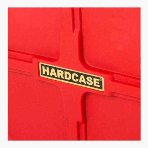 "Hardcase 22"" Cymbal Case Red"