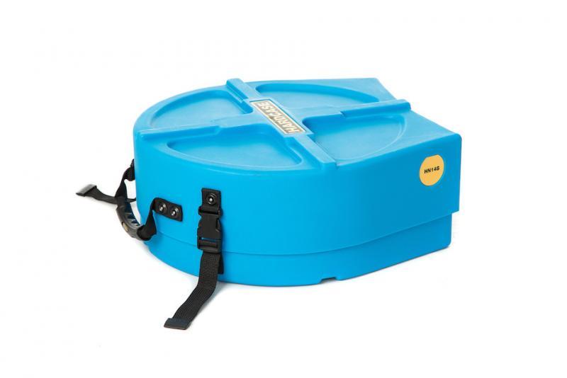 """Hardcase 14"""" Snare Drum Case Light Blue"""