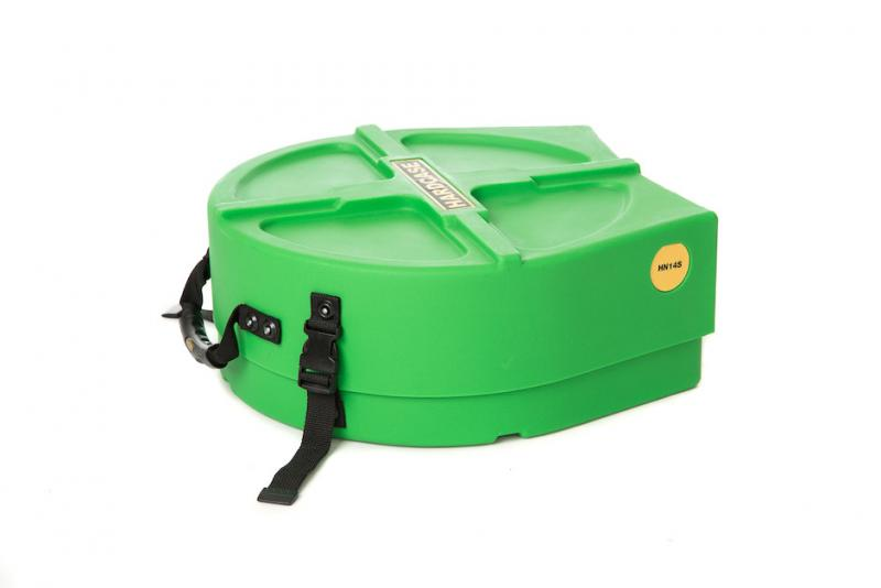 "Hardcase 14"" Snare Drum Case Light Green"