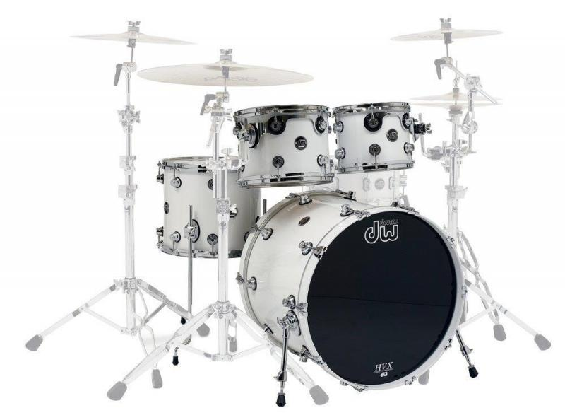 Drum Workshop Shell set Performance Lacquer Gloss White