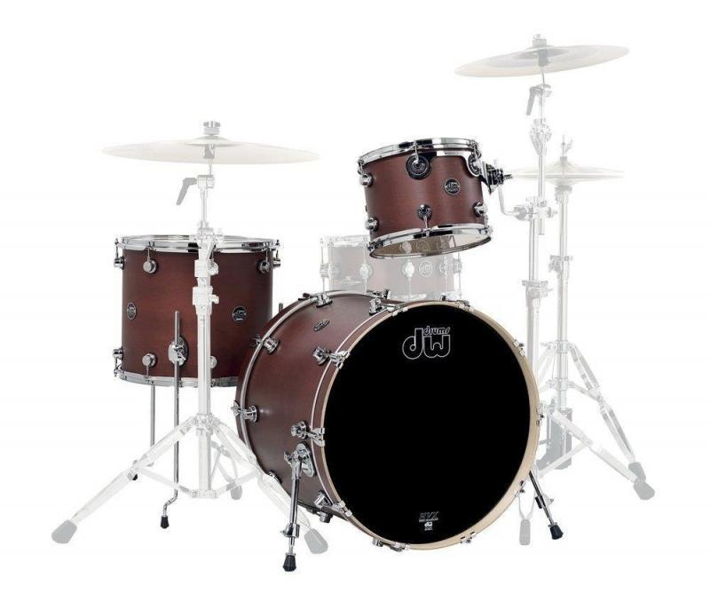 Drum Workshop Shell set Performance Chrome Shadow