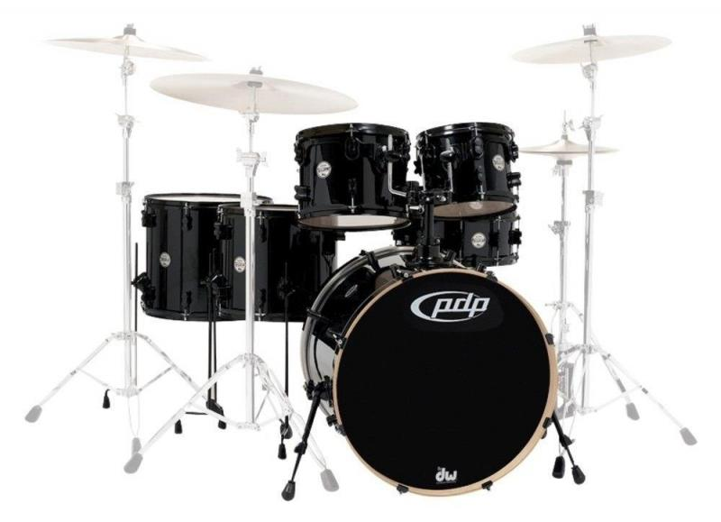 PDP by DW Shell set Concept Maple Satin Tobacco Burst