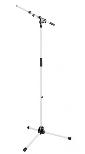 K&M 210/9W Microphone stand white