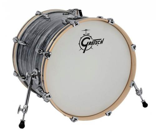 Gretsch Bass Drum Renown Maple, Silver Oyster Pearl