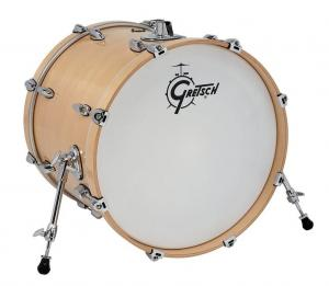 Gretsch Bass Drum Renown Maple, Gloss Natural