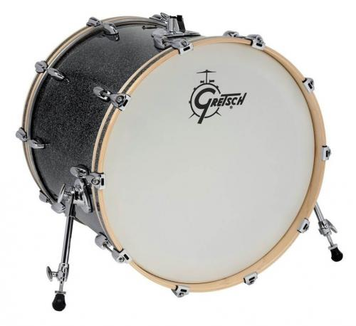 Gretsch Bass Drum Renown Maple, Satin Tobacco Burst