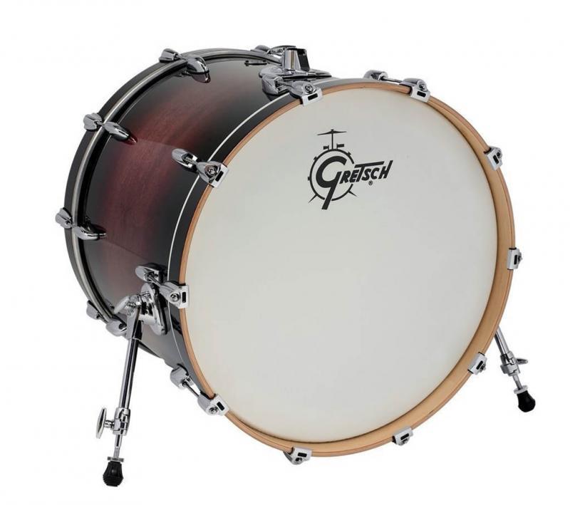 Gretsch Bass Drum Renown Maple, Cherry Burst