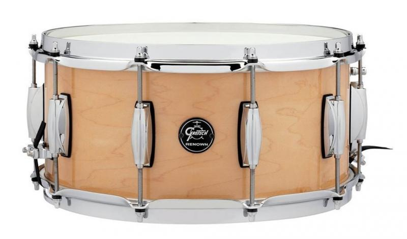 Gretsch Snare Drum Renown Maple, Gloss Natural