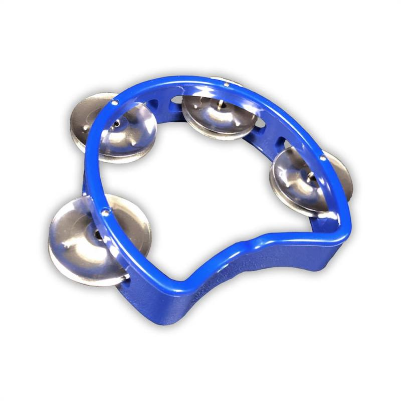 Tamburin för barn, blå