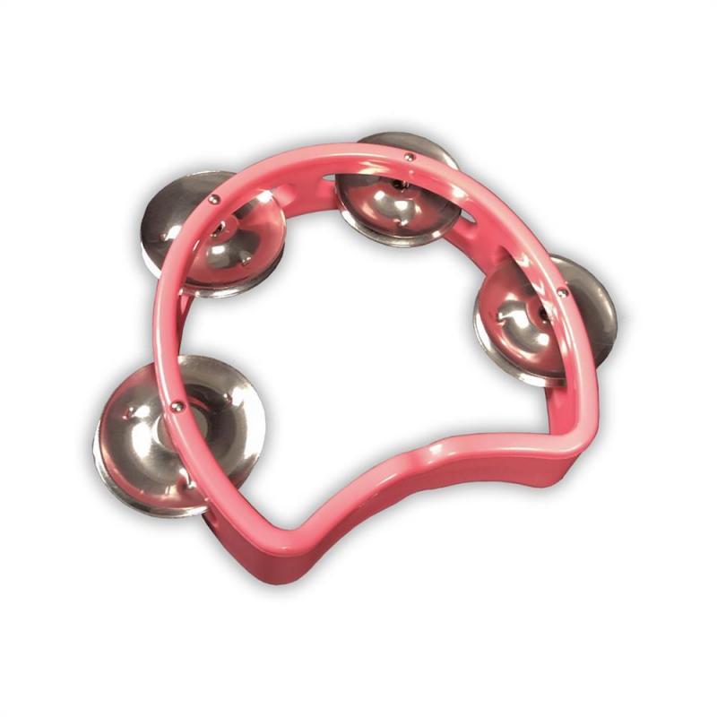 Tamburin för barn, rosa