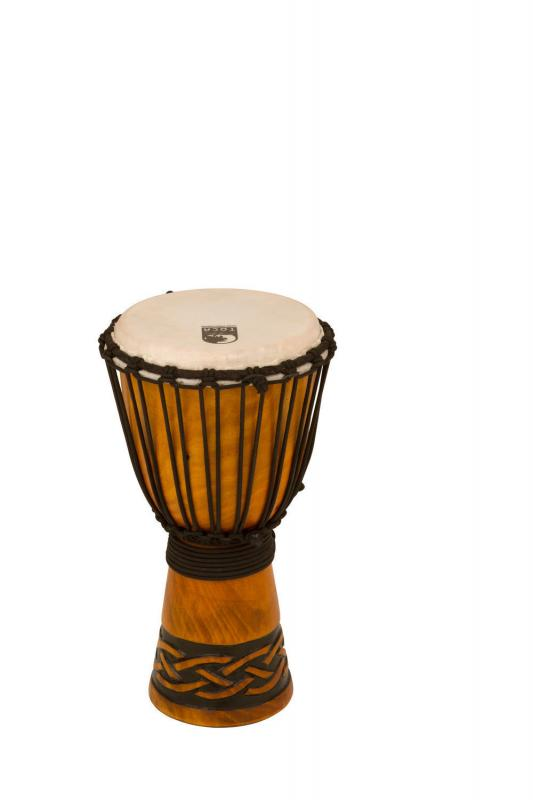 Djembe Origins Series African Mask, Toca TODJ-8AM