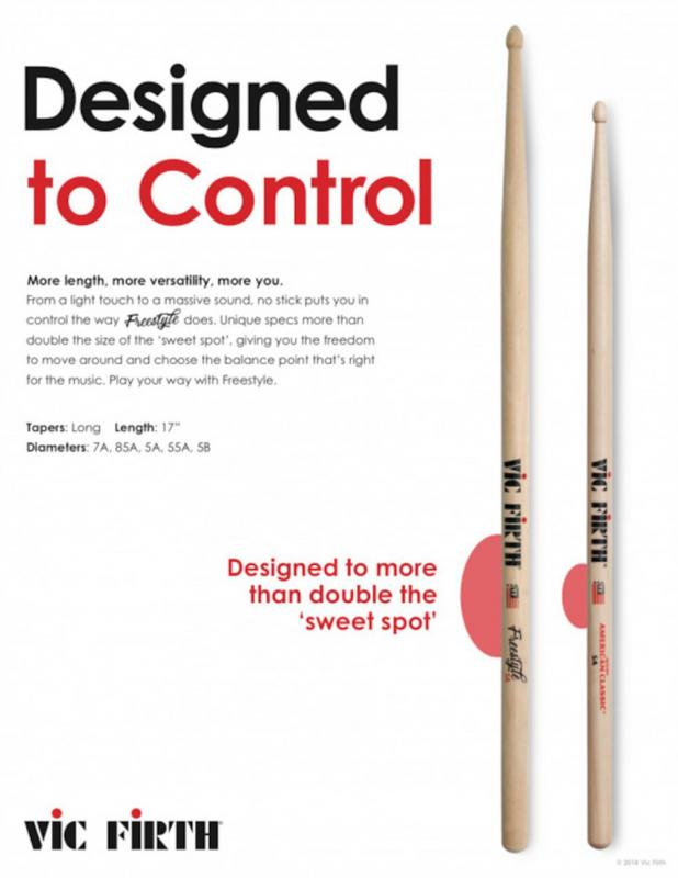 Vic Firth FS5A American Concept Freestyle 5A