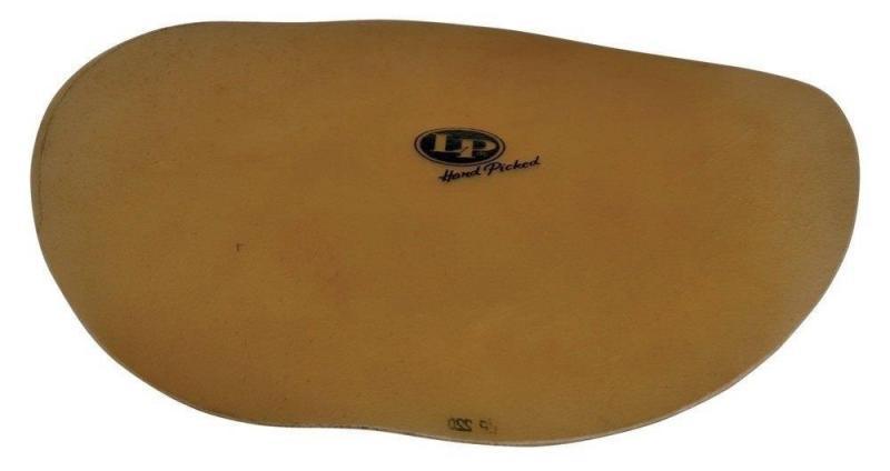 Latin Percussion Bongo head Hand Picked Flat Skin 12'' (to 7 1/4'' Macho), LP219