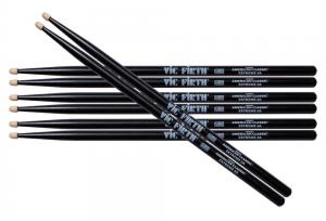 Vic Firth X5AB Extreme Hickory Value Pack - Black