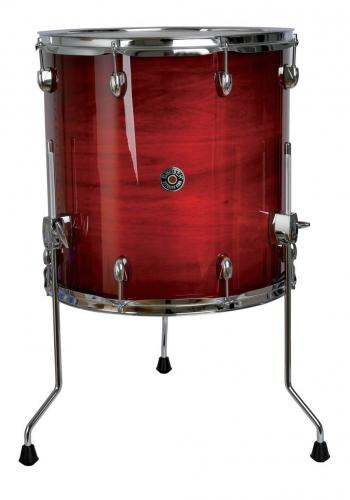 Gretsch Floor Tom Catalina Club, Gloss Crimson Burst