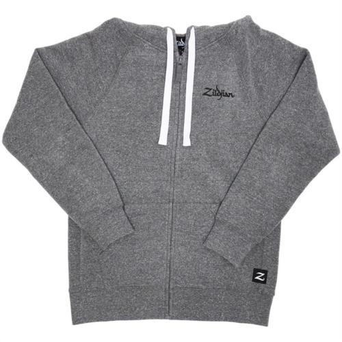 Zildjian Gray Zip-Up Hoodie - X-Large