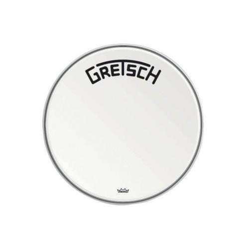 "Gretsch Bassdrum head Ambassador white coated, 20"""