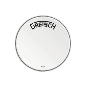Gretsch Bassdrum head Ambassador white coated, 20""