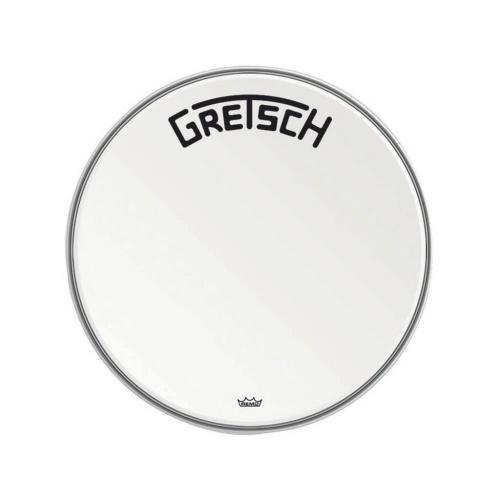 "Gretsch Bassdrum head Ambassador white coated, 22"""