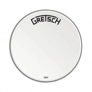Gretsch Bassdrum head Ambassador white coated, 24""