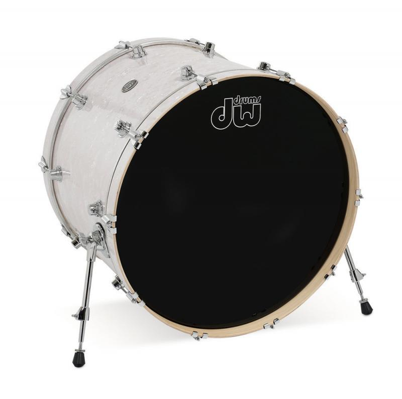 DW Bass Drum Performance White Marine Pearl
