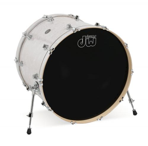 DW Bass Drum Performance White Marine Pearl