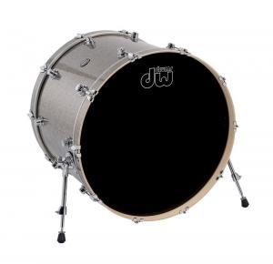 DW Bass Drum Performance Pewter Sparkle