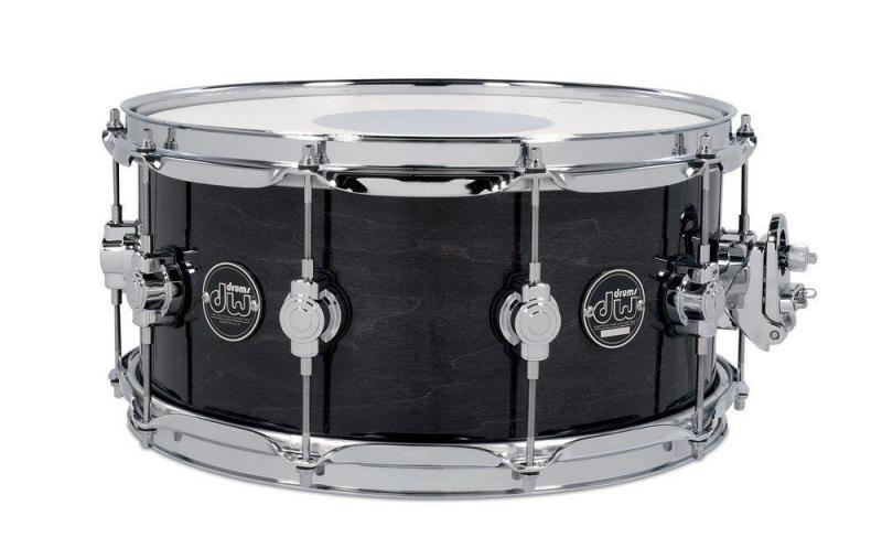 Drum Workshop Snare Drum Performance Lacquer Ebony Stain