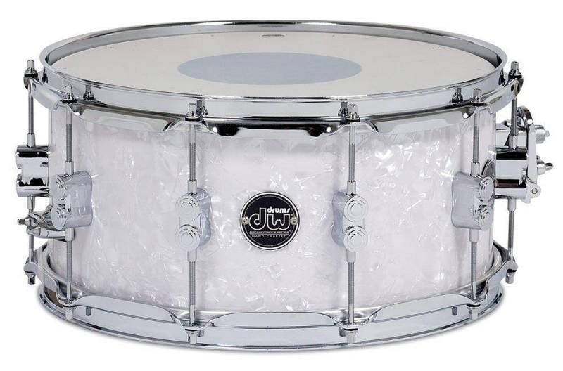 Drum Workshop Snare Drum Performance White Marine