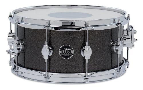 Drum Workshop Snare Drum Performance Pewter Sparkle