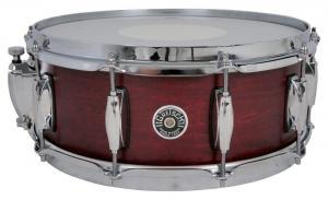 Gretsch Snare Drum USA Brooklyn Satin Black Metallic