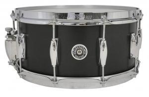 Gretsch Snare Drum USA Brooklyn, Satin Black Metallic