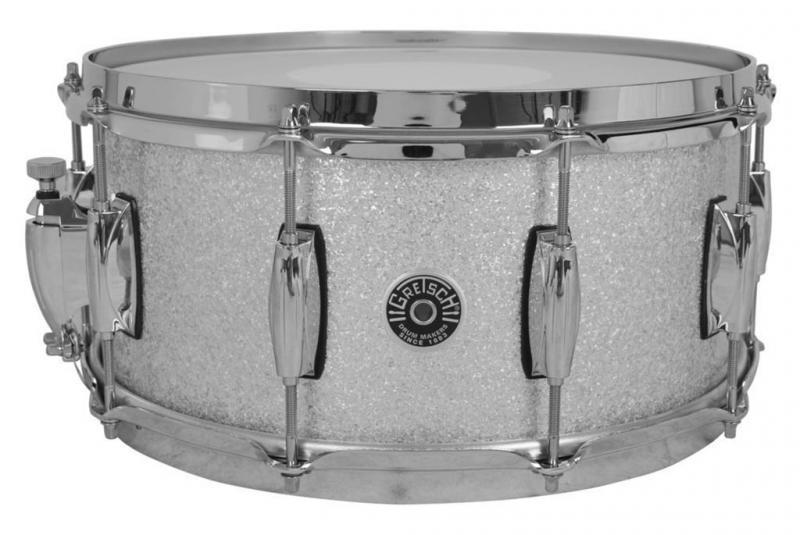 Gretsch Snare Drum USA Brooklyn, Silver Sparkle