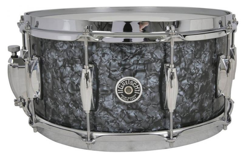 Gretsch Snare Drum USA Brooklyn, Deep Marine Black Pearl