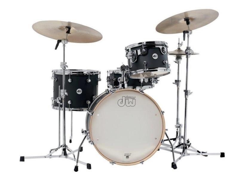 Drum Workshop Shell set Design, Steel Gray