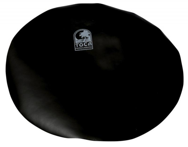 """Djembe head Flat Skin 12"""" black (to 8""""), Toca TD-DJHD8B"""