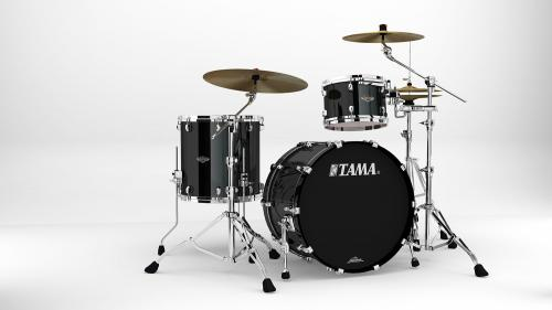 Starclassic Walnut/Birch 3-shellkit - WBS32RZS-PBK, lackerade i Piano Black finish