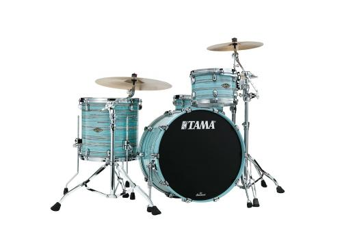 Starclassic Walnut/Birch 3-shellkit - WBS32RZS-LLO, lackerade i Lacquer Artiic Blue Oyster finish