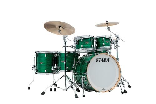Starclassic Walnut/Birch 5-shellkit - WBR52RZS-JDL, Klädda i Jade Silk Finish