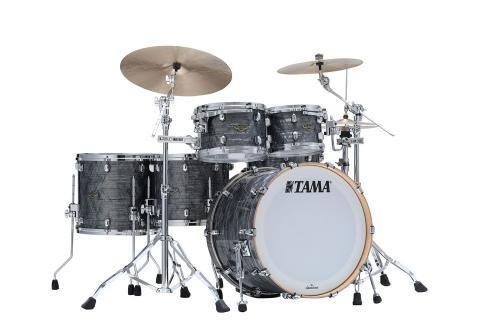 Starclassic Walnut/Birch 5-shellkit - WBR52RZS-CCO, Klädda i Charcoal Onyx Finish