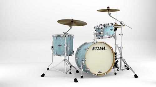 Starclassic Walnut/Birch 3-shellkit - WBS30RS-IBP, klädda i Ice Blue Pearl finish