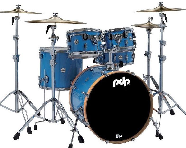 PDP by DW Shellset Concept Maple Ltd. Edition, Blue Lacquer