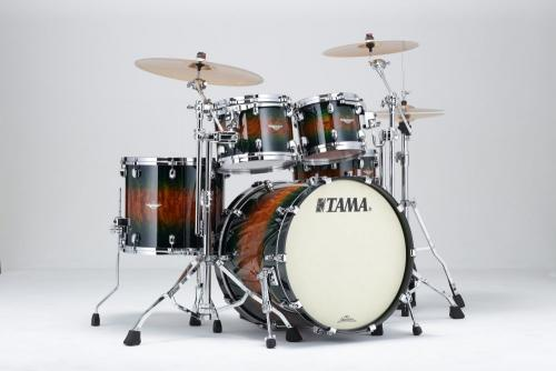 Starclassic Jungle Quilted Bubinga Burst, BE42ZS-QJQB, Tama