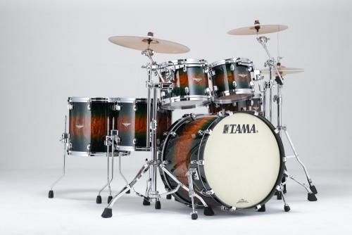 Starclassic Jungle Quilted Bubinga Burst, BE52ZS-QJQB, Tama