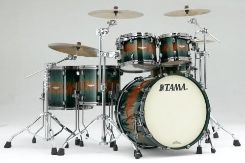 Starclassic Jungle Quilted Bubinga Burst, BE52ZBS-QJQB, Tama