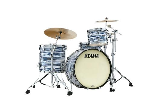 Tama Starclassic Maple - MR32CZS-BWO, klädda i Blue & White Oyster finish